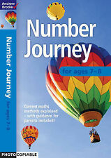 Number Journey 7-8 (Number Journey), Brodie, Andrew, New Book