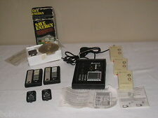 X-10 POWERHOUSE PERSONAL SECURITY CONSOLE W/VOICE DIALER PS561 / REMOTES & MORE!