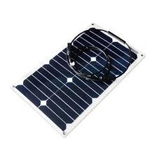 Panneau solaire flexible 20W camping-car, caravane, voiture, bateau, nautisme
