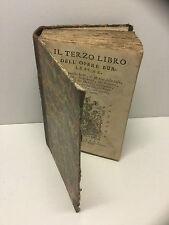 1723-F.Berni e altri:IL TERZO LIBRO DELL'OPERE BURLESCHE-Firenze, NOVUS EXORIOR