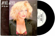 """RENEE GEYER - ALL MY LOVE/GUESS WHO I SAW TODAY - 7"""" 45 VINYL PICSLV RECORD 1985"""