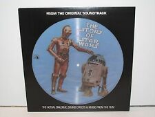 SOUNDTRACK STAR WARS 'STORY OF STAR WARS' PICTURE DISC (PR-103) LP VINYL
