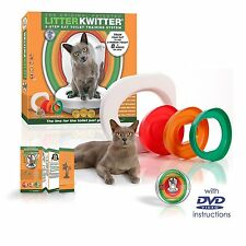 Litter Kwitter LK1 Cat Toilet Training System NEW