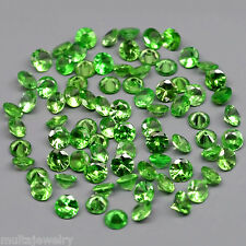 Only! $3.99/1pc 2.7mm Round Brilliant Natural Green Tsavorite Garnet, Tanzania