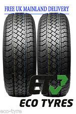 2X Tyres 265 65 R17 110H Superia/GoForm SUV E B 73dB
