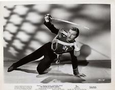 "George Montgomery ""The Sword of Monte Cristo"" 1951 Vintage Movie Still"