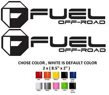 (#292)Fuel decals off road vinyl graphic decal stickers,GMC, Chevy, Ford, Toyota