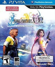 Final Fantasy X/X-2 HD Remaster USED SEALED (Sony PlayStation Vita, 2014) PSVITA