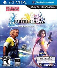 Final Fantasy X/X-2 HD Remaster (Sony PlayStation Vita, 2014) NO X-2 CODE