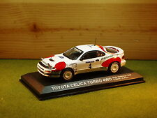 Toyota Celica Turbo 4WD Carlos Sainz  L Moya 1992 1/43rd Scale