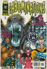 Abominations #1 Dec 1996 Marvel Comic Book VF