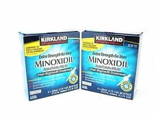 Kirkland Extra Strength Men Hair Regrowth Solution Minoxidil 5% 12 Month Supply