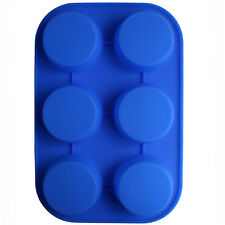 Round Soap Silicone Mold Cupcake Bakeware Tools DIY Chocolate Muffin jelly Mould