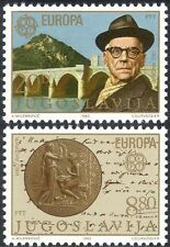 Yugoslavia 1983 Europa/Andric/Nobel Prize/Literature/Bridge/Book 2v set (n32742)
