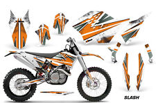AMR Racing KTM Graphic Kit Bike Decal C5 SX/XC/XCW/XCFW Decal MX 07-11 SLASH ORG