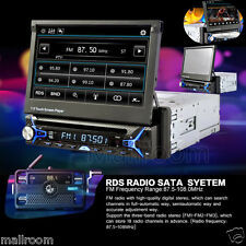 "7"" HD LCD Touchscreen Flip Out Stereo Autoradio Bluetooth DVD CD USB MP3 Player"
