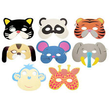 10Pcs Birthday Party Favor Animal Cartoon Zoo Mask Foam for Child Kids