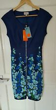 BNWT Sold Out RARE £160 Karen Millen Size 4 6 8 Navy Floral Butterfly Dress