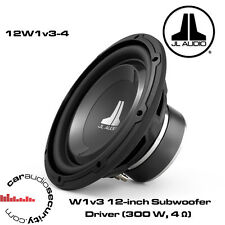 "JL Audio 12W1V3-4 - 12"" 300 Watt RMS Subwoofer Bass Subwoofer"