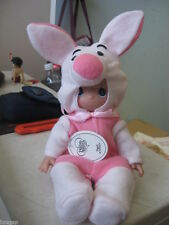 "Precious Moments Disney Winnie the Pooh Piglet 9"" Doll #5101"