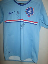 Holland Away Shirt Signed by Drenthe Heitinga Football Shirt  COA /6289
