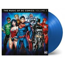 The Music of DC Comics Volume 2 (MOVATM127C) Ltd 180g Blue Vinyl 2LP NEU+OVP!