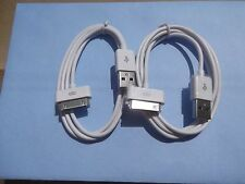 2 X Iphone 4 4S New High quality USB Data Sync Charger Cable