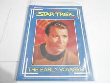 1985 STAR TREK files magazine THE EARLY VOYAGES  book 1
