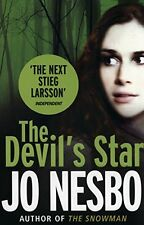 JO NESBO _____ THE DEVIL'S STAR ______ BRAND NEW __ FREEEPOST UK