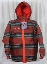 New 2014 Boys Burton Raider Insulated Jacket Medium Burner / Rugrat Youth
