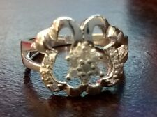 925 STERLING SILVER JEWELRY FASHION RING size 18/Q