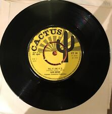 GLEN BROWN Tell It Like It Is Dub U ROY No One In The World CACTUS 1974 VINYL EX