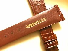 lecoultre watch strap  22mm vintage jaeger-lecoultre brown crocodile