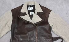 VAKKO SPORT LEATHER WOMEN JACKET/TOP Size -M. TAG NO. 93V