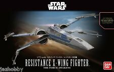 Bandai 1/72 Model Kit Star Wars X-Wing Fighter Starfighters The Force Awakens