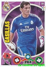 235 IKER CASILLAS ESPANA REAL MADRID CARD ADRENALYN 2015 PANINI