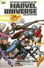 Essential Official Handbook of the Marvel Universe - Deluxe Edition, Vol. 1 (Mar
