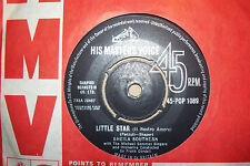 SHIELA SOUTHERN,  LITTLE STAR,  HMV RECORDS 1962  EX/EX+