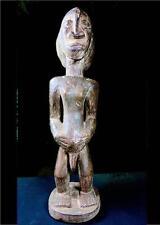 VECCHIO Tribale LUBA maternità figura D R Congo bn15