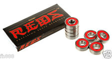BONES REDS Bearings 8mm (SINGLE SET 8pc) 608 Inline Skateboard Bearings