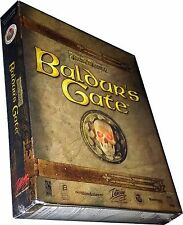 Baldur's Gate: Forgotten Realms PC NEW VINTAGE 1998 RARE NISB Collectible!!