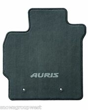Genuine Toyota Auris Car Floor Carpet Mat Drivers Only 2010-2012 Anthracite