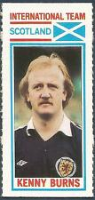 TOPPS-1981-FOOTBALLERS- #182-INTERNATIONAL TEAM-SCOTLAND & N FOREST-KENNY BURNS
