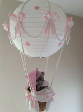 Tatty Teddy Hot Air Balloon Lamp light shade Pink