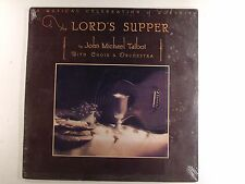 john michael talbot lp the lords supper  bwr 2013 in original wrapping