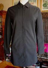 Prada black zip up coat jacket, $1995, sz 40 / US 4