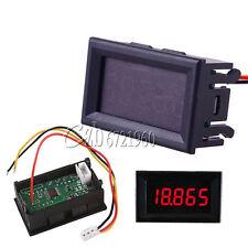 """3-wire 5 Digit 0.36"""" DC 0-33.000V Red LED Digital Voltmeter Voltage Meter Panel"""