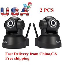 2Pack Sricam 3MP 1080P Wireless IP Camera WiFi Security Night Vision Cam USA HP