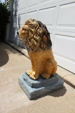 Concrete / Cement  Mold for Large Lion Statue Latex rubber / Fiberglass