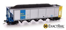 Exact Rail Platinum HO NRLX AutoFlood Coal Hopper NEW EP-1307-6